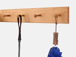 Cherry Shaker Peg Rack