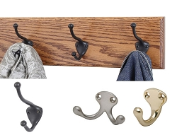 Solid Oak Coat Racks