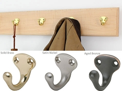 Solid Maple with Single Style Hooks