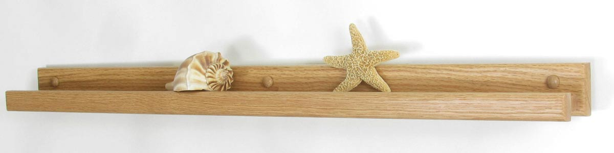 Solid Oak Picture Ledges Amp Shelves Hand Crafted In The Usa