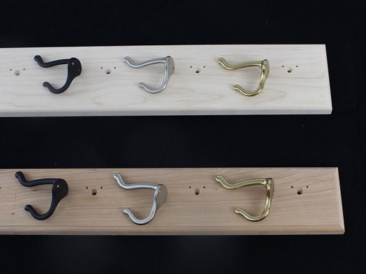 Unfinished Coat Racks With Hat & Coat Style Hooks