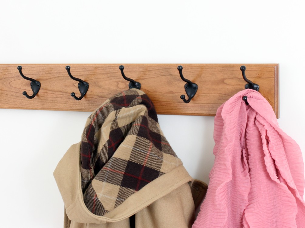 Cherry with Hat and Coat Style Hooks